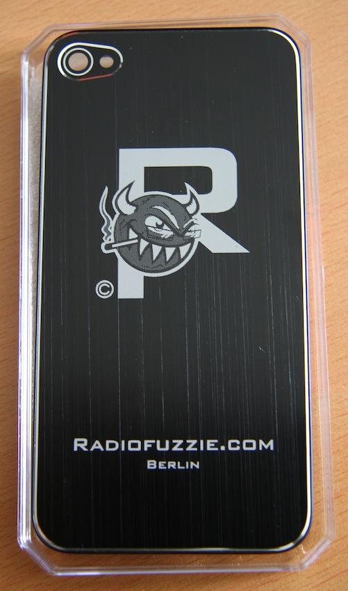 Bild iPhone-Backcover aus gebürstetem Aluminium mit Gravur