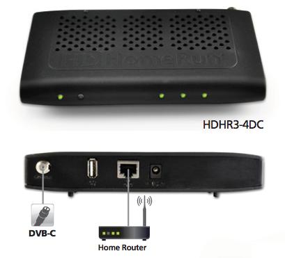SiliconDust HD Homerun HDHR3-4DC (Bild: Hersteller)