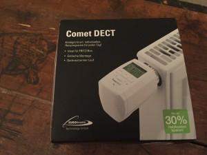 Comet DECT für AVM Fritzbox - Verpackung von vorn