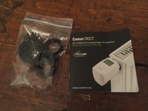 Comet DECT für AVM Fritzbox - Verpackungsinhalt